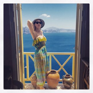 Katy Perry's Instagram Pictures of Holiday in Greece
