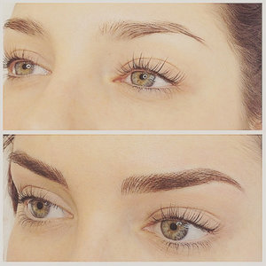 Brow Tattoo Before and After Pictures