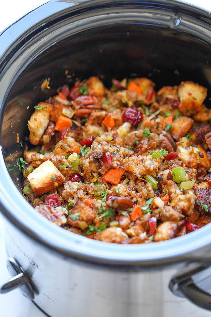 Slow-Cooker Cranberry Pecan Stuffing | 14 Totally Brilliant ...