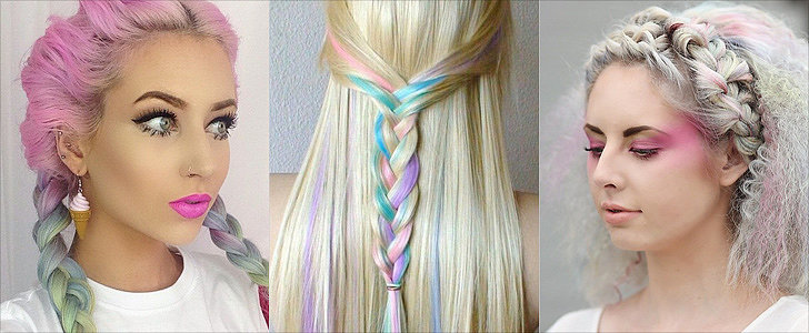 13 Rainbow Braids That Are to Dye For