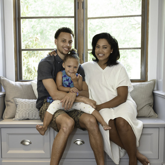 Ayesha Curry and Stephen Curry's Pottery Barn Nursery Room