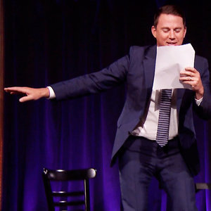 Channing Tatum Kids Magic Mike Theatre on Jimmy Fallon Show