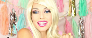 Watch a Makeup Artist Transform Into a Real-Life Barbie in 90 Seconds