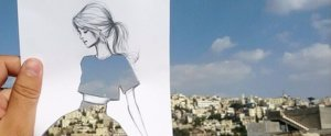 These Fashion Sketches Use the World as Their Backdrop — and the Results Are Stunning