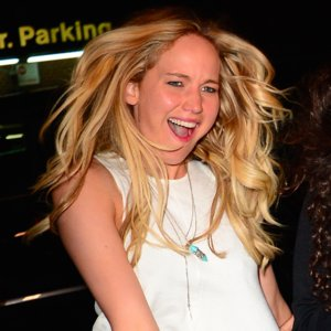 Pictures of Jennifer Lawrence Being Silly With Paparazzi