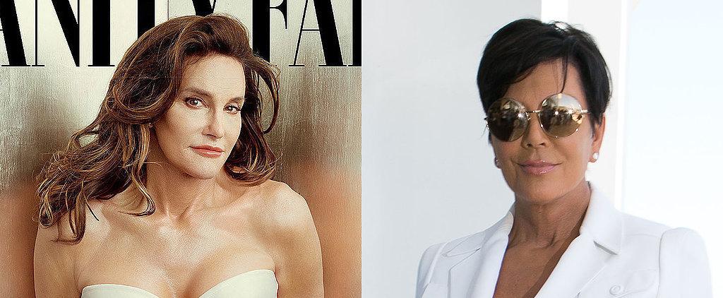 Kris Jenner Breaks Her Silence on Caitlyn Jenner's Vanity Fair Cover and Transition
