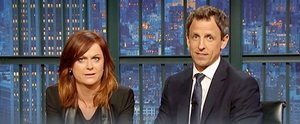 Amy Poehler and Seth Meyers's Response to a Sexist Sports Guy Is PERFECT