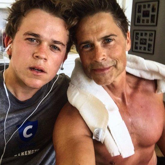 Rob Lowe's Son Instagram Photo