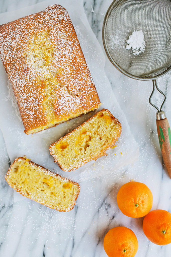 Clementine Vanilla Bean Quick Bread