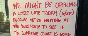 2 Comic-Book Store Owners Got Married After Posting This Sweet Sign