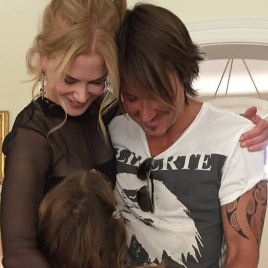 Nicole Kidman and Keith Urban With Daughters Picture