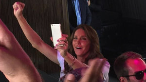 Caitlyn Jenner Steps Out to Celebrate New York LGBT Pride, Welcomed by Screams of 'We Love You!'