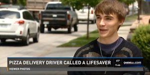 Teen Delivering Pizza Saves Choking Man, Goes From 'Pizza Boy' To 'Pizza Man'