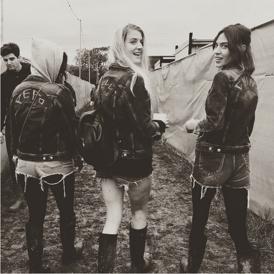 Celebrity Instagram Pictures From Glastonbury 2015