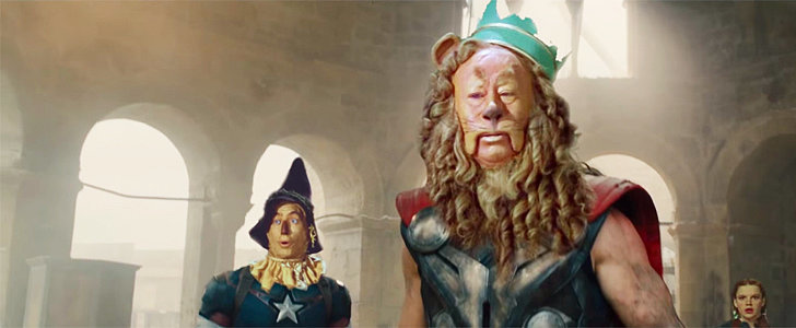 This Wizard of Oz/Avengers: Age of Ultron Mashup Is Weirdly Impressive