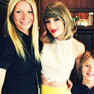 Picture: Gwyneth Paltrow and Moses Martin With Taylor Swift
