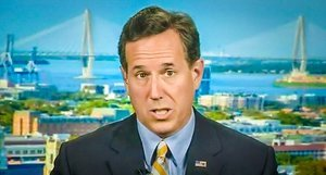 President Santorum Would Promote Hetero Marriage, Not Silly Climate Change Science