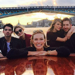Taylor Swift Calvin Harris Gigi Hadid Joe Jonas Double Date