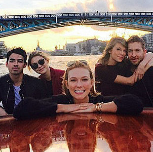 Taylor Swift's Double Date With Gigi Hadid and Joe Jonas