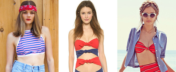 24 Red, White, and Blue Swimsuits That Go Beyond the Fourth of July