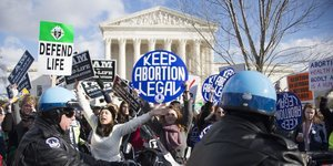 Supreme Court Blocks Restrictions On Texas Abortion Clinics