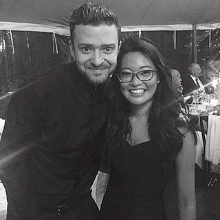 Justin Timberlake Performs at a Friend'