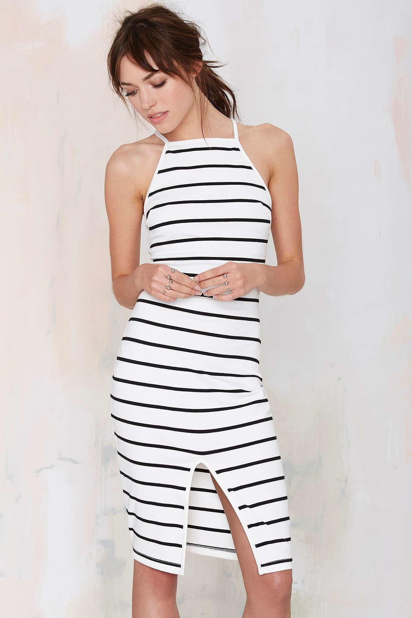 Nasty Gal Striped Dress