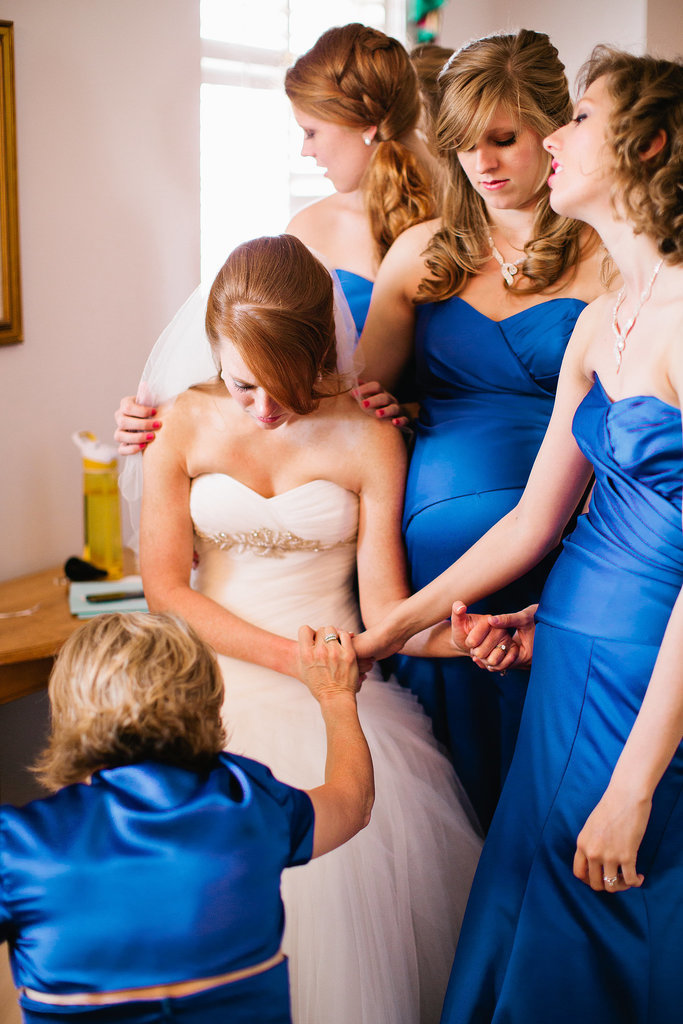 An Emotional Moment With Your Bridesmaids