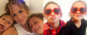 Jennifer Lopez's Sweetest Snaps With Her Adorable Little Ones