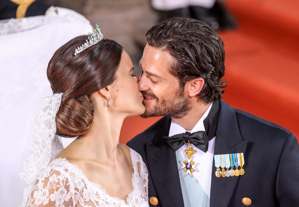 Prince Carl Philip and Princess Sofia of Sweden had a superromantic royal wedding in June 2015.