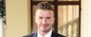 David Beckham Gets a Tattoo For Harper, but It's Not What You Think