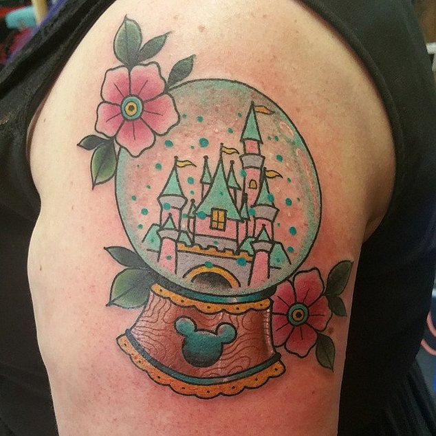 Cinderella's Snow Globe