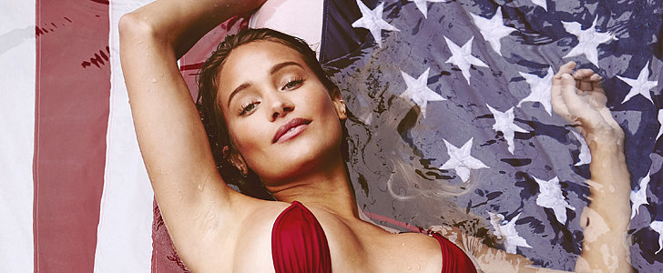 Hannah Davis Celebrates the Fourth With a Steamy Sports Illustrated Shoot