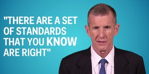 Retired Gen. Stanley McChrystal on leadership and advice for his 20-year-old self