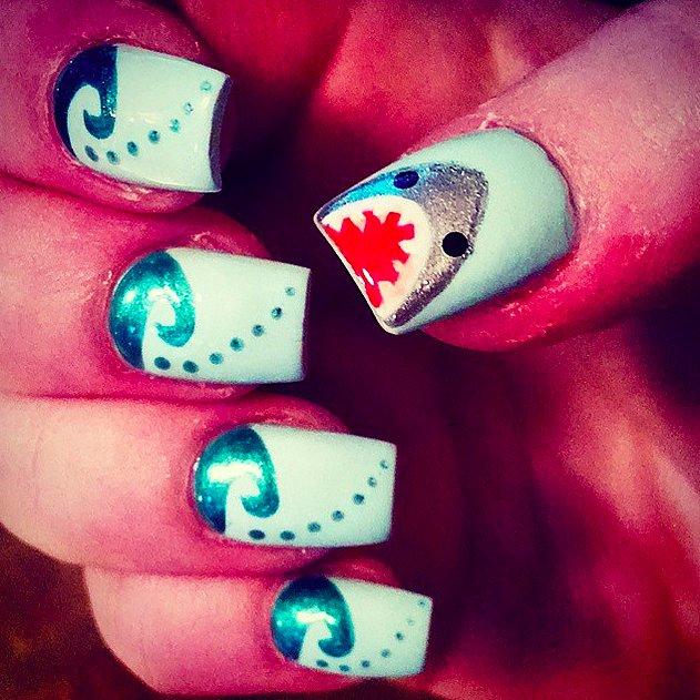 valentine nail strips