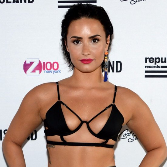 Whoa! These Photos of Demi Lovato's Outfit Are Almost NSFW