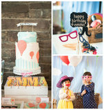 Get Carried Away With This Hot-Air Balloon-Themed Party