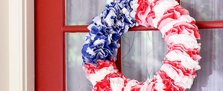 This Easy DIY Fourth of July Wreath Is the Perfect Last-Minute Addition to Your Party