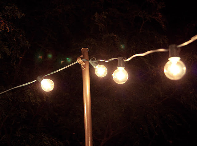 Outdoor String Lights Summer : Home & Garden This Hack For Hanging Outdoor String Lights Will Make Your Summer POPSUGAR Home