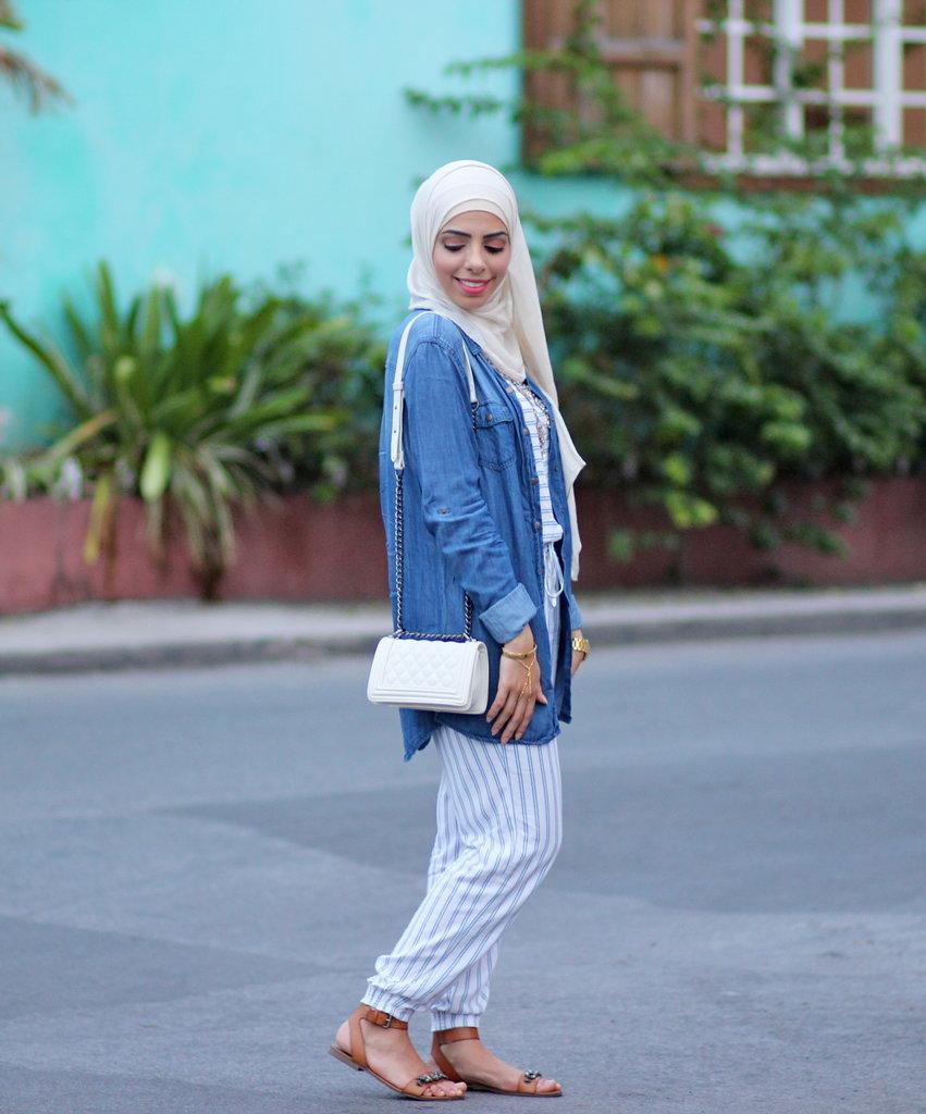 Hijab Fashion Bloggers Popsugar Fashion