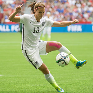 Stay-Put Hairstyles, As Seen at the Women's World Cup