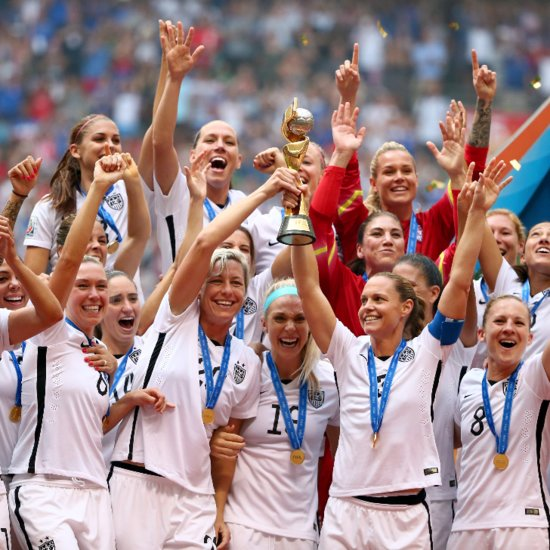 Celebrities React to the USA Women's Soccer Team FIFA World Cup Victory