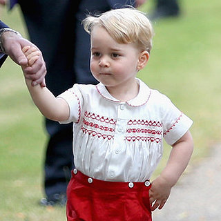 The 20 Cutest Prince George Moments at Princess Charlotte's Christening