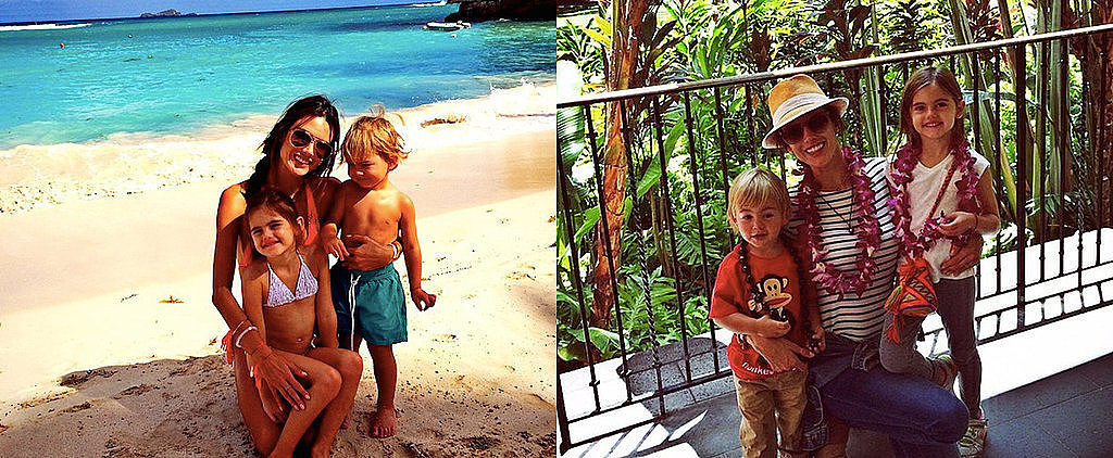 Alessandra Ambrosio's Kids Are the Most Adorable Beach Babes