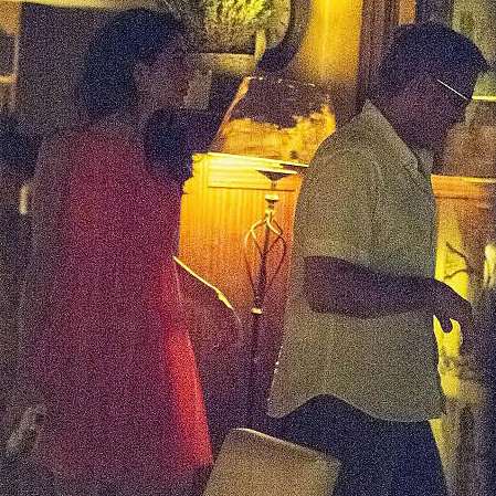 George and Amal Cuddle Up For Fourth of July Fireworks