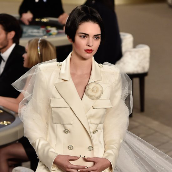 You Won't Believe What Kendall Jenner Wore on Chanel's Haute Couture Runway