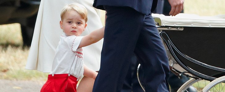 Prince George's Adorable Outfit Has Us Seeing Double
