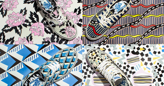 Vans' New Crazy, Cool Printed Collaboration With Eley Kishimoto