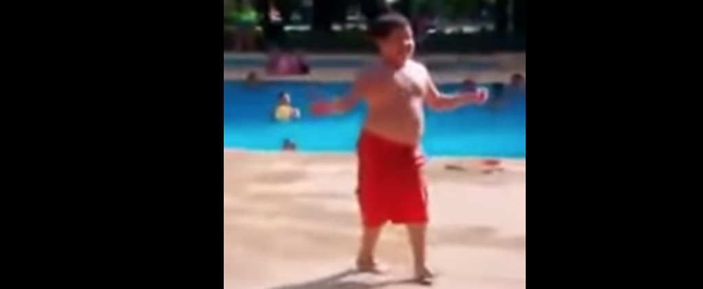 This Kid's Poolside Moves Will Make You Want to Get Up and Salsa