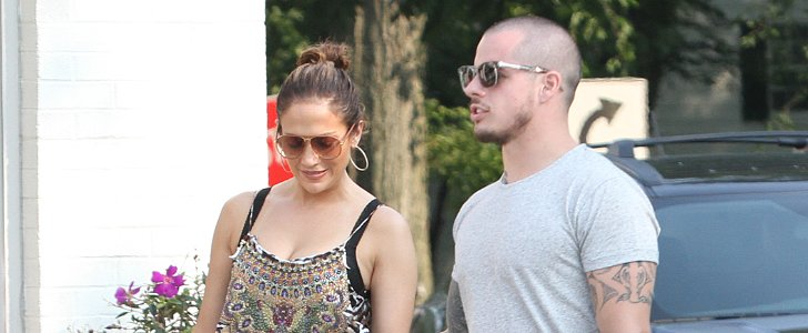 J Lo and Casper Smart Cozy Up in The Hamptons